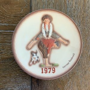 "Norman Rockwell ""LeapFrog"" 1979 Decorative Plate"